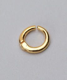<KNOWHOW>HOOP10 EARCUFF GOLD COLOR/イヤーカフ
