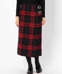 O'NEIL of DUBLIN(オニールオブダブリン)の【O'NEIL of DUBLIN】ラップスカート WOMEN(スカート)