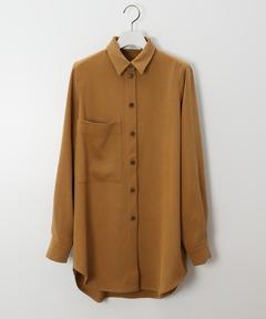 エアロン AERON / ビッグポケットシャツ