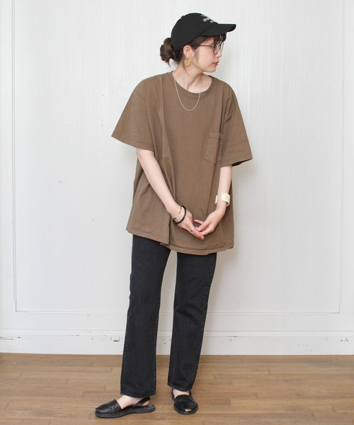 GOODWEAR / グッドウェア ポケット TEE BIG  POCKET TEE BIG