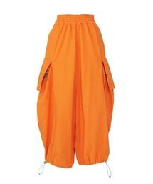 STAR LADY ドローストリングパンツオレンジ