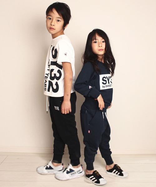 SY32 by SWEET YEARS(エスワイサーティトゥバイスィートイヤーズ)の「SY32 by SWEET YEARS /エスワイサーティトゥ バイ スィートイヤーズ/REGULAR SWEAT PANTS KIDS(スウェットパンツ)」|詳細画像