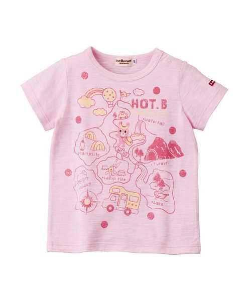 HOT-Bキャンピング 半袖Tシャツ