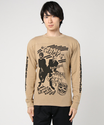 THE CRAMPS/ROCK'N ROLL BASH リブ付Tシャツ