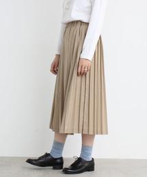 bulle de savon(ビュル デ サボン)のT/R プリーツ スカート(スカート)