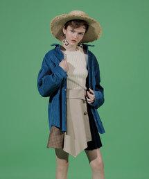 REDYAZEL(レディアゼル)の4素材MIX変形ミニスカート(スカート)