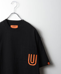 UNIVERSAL OVERALL(ユニバーサルオーバーオール)のUOプリントポケット/UNIVERSAL OVERALL×MORGAN HOMME(Tシャツ/カットソー)