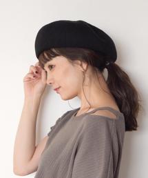 studio CLIP(スタディオクリップ)のフンワリキープベレー(ハンチング/ベレー帽)