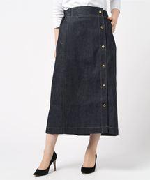 Traditional Weatherwear(トラディショナルウェザーウェア)のSIDE BUTTON GATHERD SKIRT(スカート)