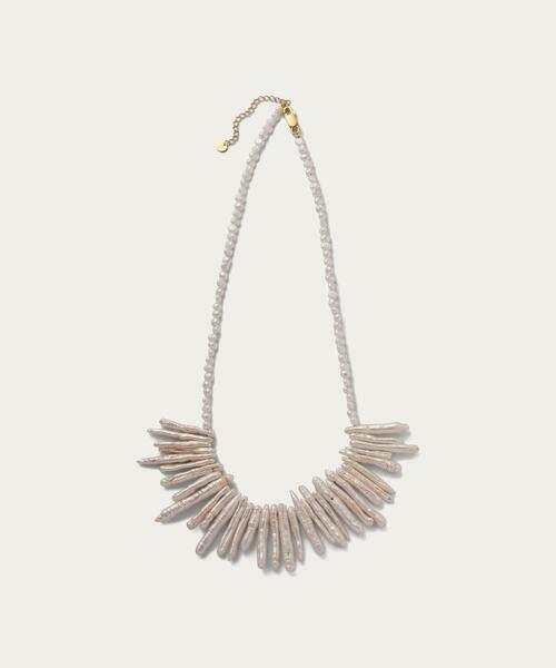 Preek for UNITED ARROWS & SONS FEATHER P NECKLACE†