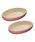 Le Creuset(ルクルーゼ)の「オーバル・ボール 23cm(2個入り)(食器)」 ピンク系その他