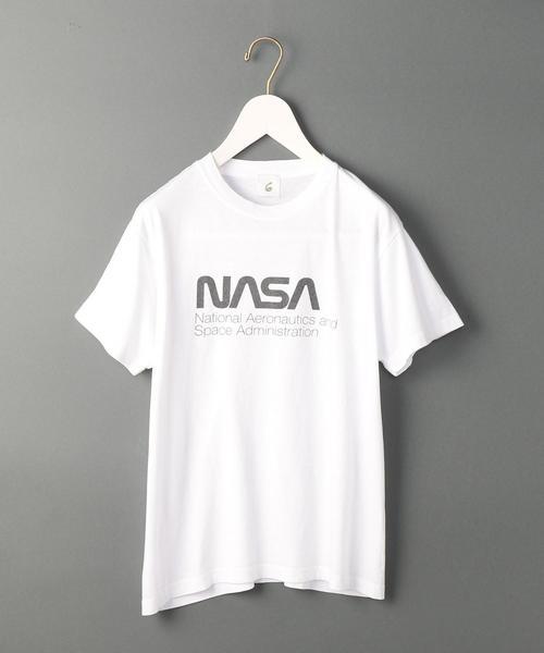 <6(ROKU)>NASA SHORT SLEEVE CREW NECK T-SHIRT/Tシャツ