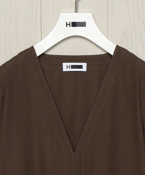 <H>EMBROIDERY ONE PIECE/ワンピース о