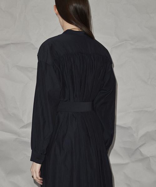 ギャザーコートドレス 【MAISON SPECIAL/メゾンスペシャル】