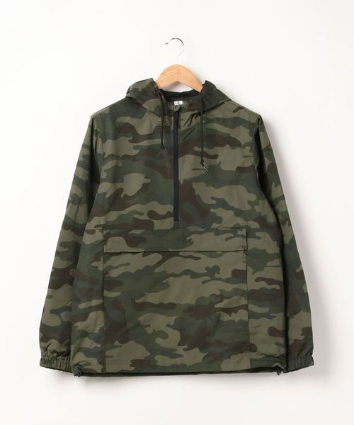 ARCHIVER(アーカイバ)の「【W】【it】【INDEPENDENT】hooded anorak jacket(ブルゾン)」 カモフラージュ