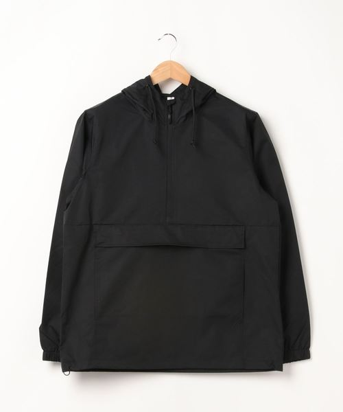 ARCHIVER(アーカイバ)の「【W】【it】【INDEPENDENT】hooded anorak jacket(ブルゾン)」 ブラック