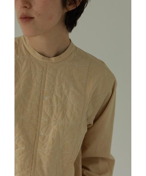 TODAYFUL(トゥデイフル)の「キルティングドレスシャツ(Quilting Dress Shirts)(シャツ/ブラウス)」|クリーム