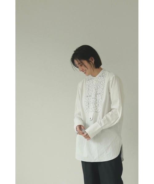 TODAYFUL(トゥデイフル)の「キルティングドレスシャツ(Quilting Dress Shirts)(シャツ/ブラウス)」|詳細画像