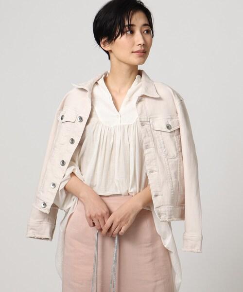「L」ハイパワーピンクデニムジャケット