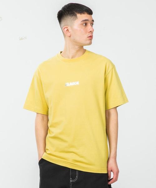 XLARGE(エクストララージ)の「S/S TEE STANDARD LOGO(Tシャツ/カットソー)」|イエロー