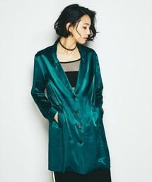 BAD GIRL刺繍 ロングジャケット