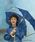 SHIPS(シップス)の「Wpc.:キッズ 長傘(ディズニー)(長傘)」|ネイビー