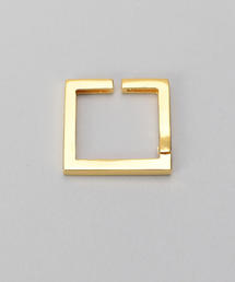 <KNOWHOW>SQUARE EARCUFF GOLD COLOR/イヤーカフ