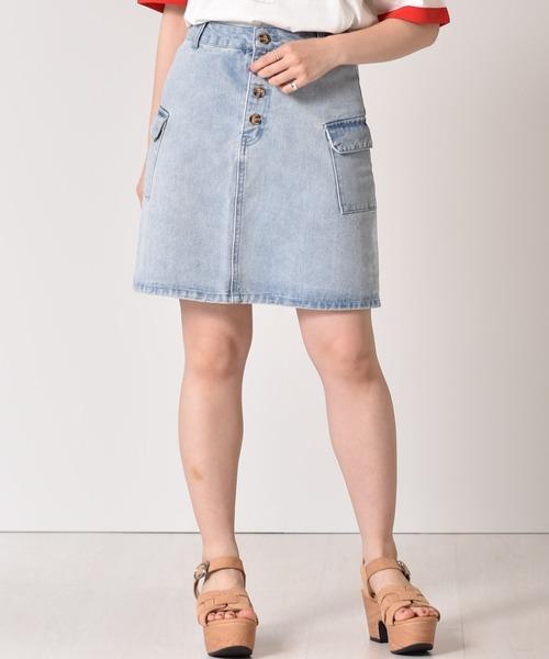 アウトポケットタイトスカート