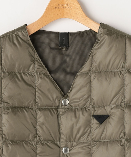 TAION EXTRA タイオン エクストラダウンジャケット Vネックインナーダウンベスト+半袖+長袖3WAY