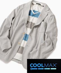 SHIPS(シップス)のSC: COOLMAX(R) リネン ライト ピケ ジャケット(テーラードジャケット)