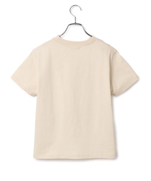 ADAM ET ROPE'(アダムエロペ)の「【UVケア】ファンデーションコンパクトTシャツ(Tシャツ/カットソー)」|詳細画像