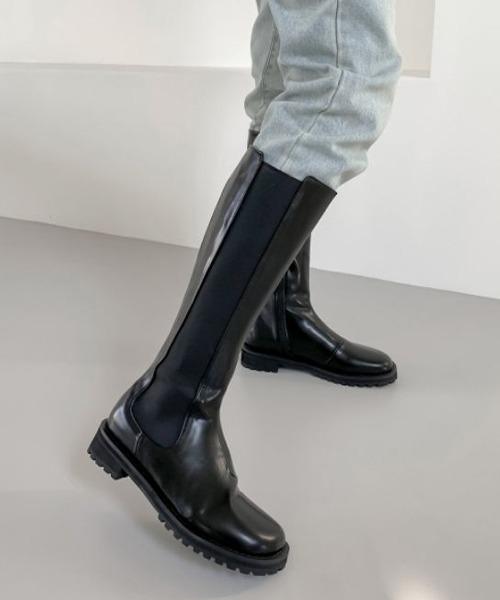 【chuclla】【2021/AW】Long chelsea boots chs21a025