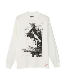 VAMPIRELLA/#39 SKULL Tシャツホワイト