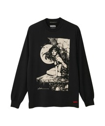 VAMPIRELLA/#39 SKULL Tシャツブラック