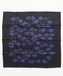 ANNEE シルクプリントスカーフ 90×90(バンダナ/スカーフ)