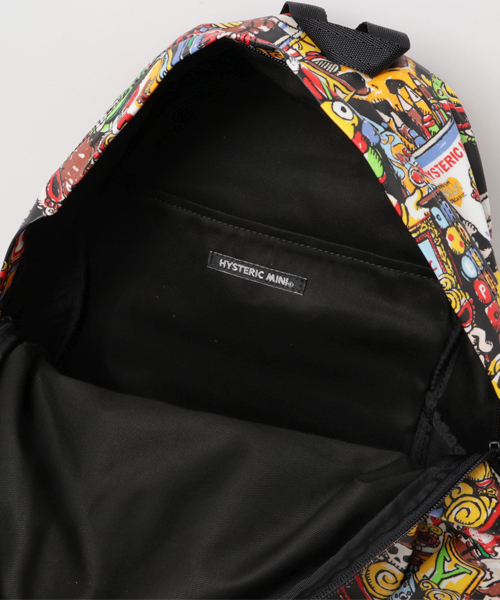 HYSTERIC TOYLAND総柄 DAY PACK