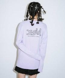 X-girl(エックスガール)の【WEB限定】EMBROIDERY MILLS LOGO CREW SWEAT TOP EC(スウェット)