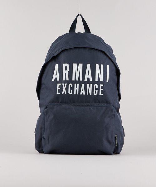 【正規通販】 【A|Xアルマーニ エクスチェンジ メンズ,A|X ARMANI AX】ビッグロゴ バックパック(バックパック/リュック)|ARMANI EXCHANGE(アルマーニエクスチェンジ)のファッション通販, 名古屋貸衣装:9a845c31 --- svarogday.com