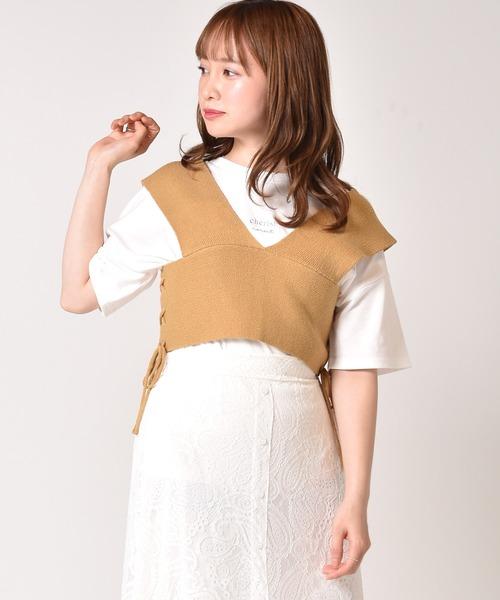 【セットアイテム】カット+ニットビスチェセット