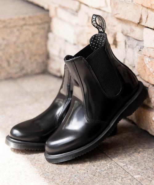 Dr.Martens / ドクターマーチン FLORA CHELSEA BOOT フローラ チェルシー ブーツ サイドゴア R14649001