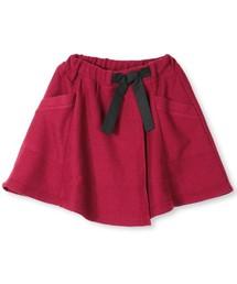 BRANSHES(ブランシェス)のラップ風スカート(スカート)