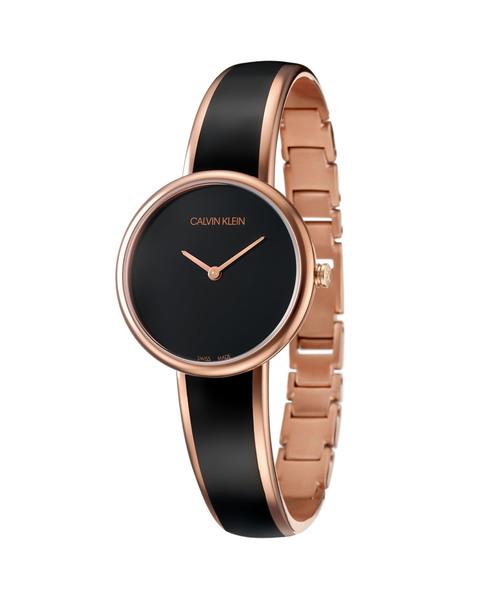 [カルバンクライン] CALVIN KLEIN 腕時計 Seduce(セデュース) 2針 ゴールド×ブラック