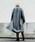 AMERI(アメリ)の「【AMERI VINTAGE】《STUDIOUS別注》シンプルノーカラーコート(チェスターコート)」|詳細画像