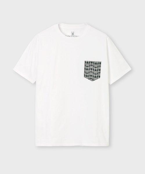 ロゴパターン ポケットTシャツ