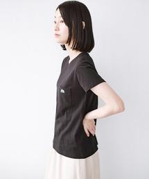 Lee(リー)のLady Lee ポケット付きコンパクトフィットTシャツ(Tシャツ/カットソー)