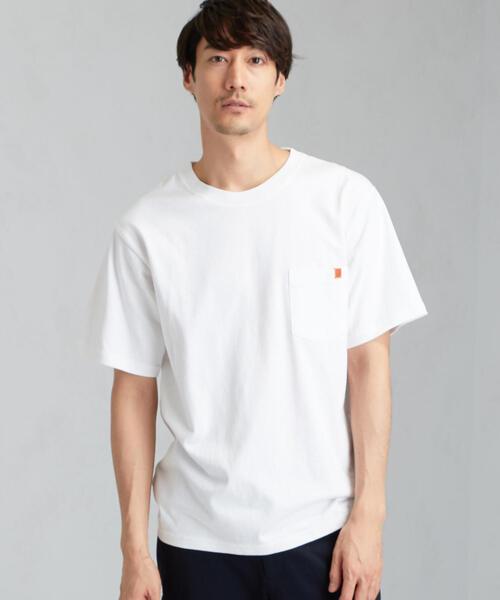 [ユニバーサルオーバーオール] SC UNIVERSAL OVERALL ロゴ ポケット Tシャツ