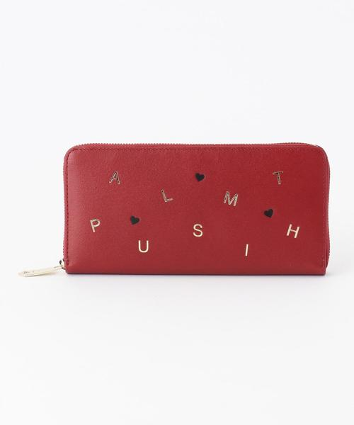 Paul Smith(ポールスミス)の「ポールスミスレターズ 長財布(ラウンドジップ)(財布)」|レッド系