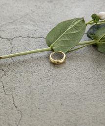 S925 simple ringゴールド