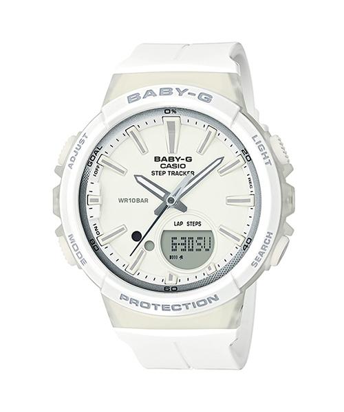 印象のデザイン STEP TRACKER(ステップトラッカー)/ BGS-100-7A1JF/ BGS-100-7A1JF/ ベビーG(腕時計)/|BABY-G(ベイビージー)のファッション通販, 新発売:4ab6ef00 --- frizou.com