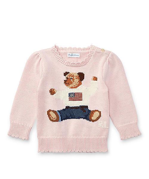 02c6a389b9d9f Polo Ralph Lauren Childrenswear(ポロ キッズ)の「コットン Polo ベア セーター(ニット